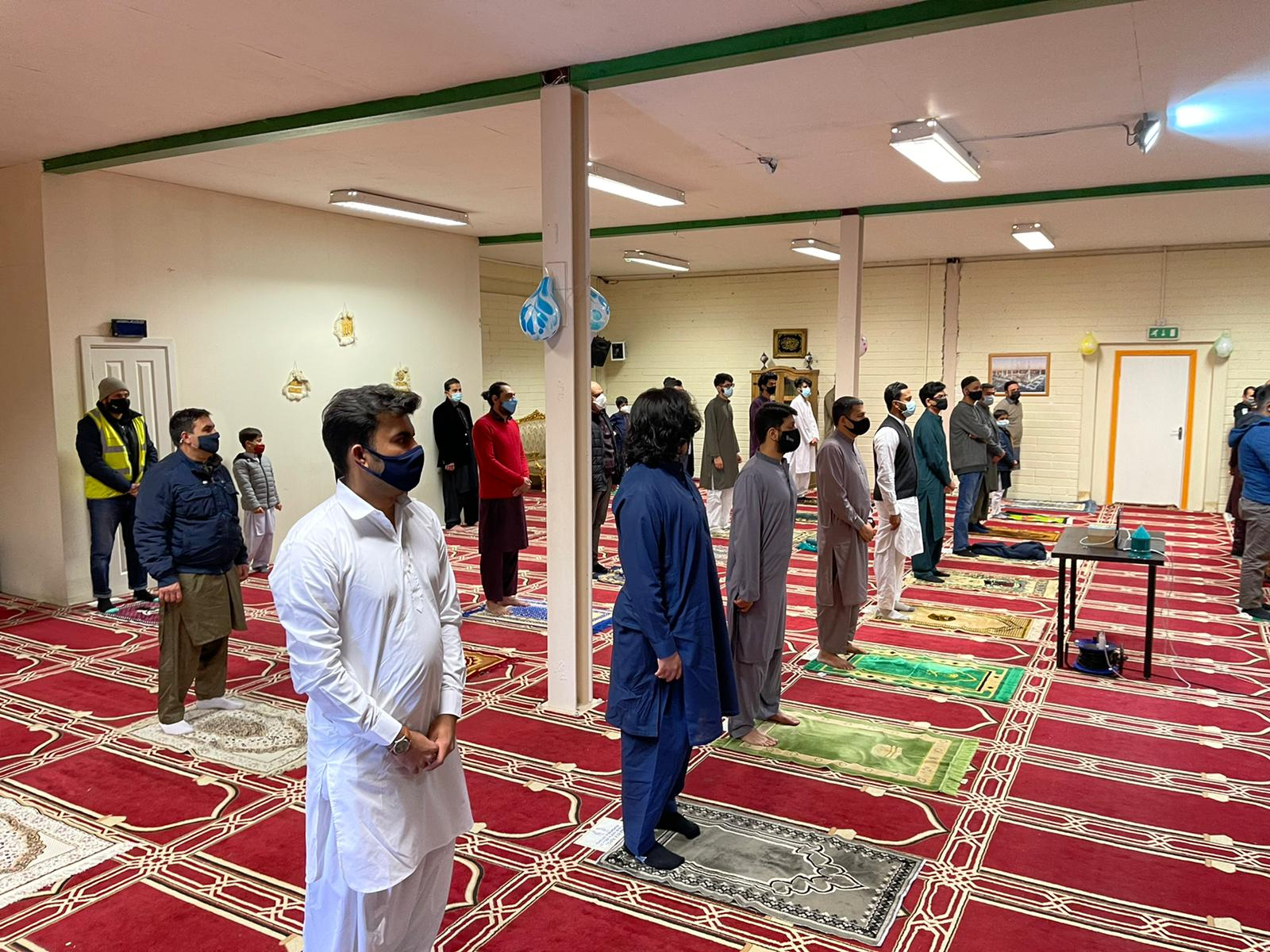 Friday Prayer Almustafa Islamic Centre Dublin Ireland